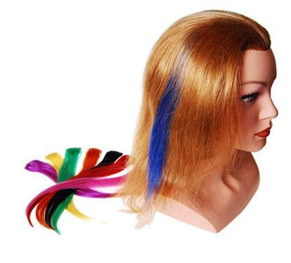 Billede af Easy-hair Color 1 clips 25 cm. Sort