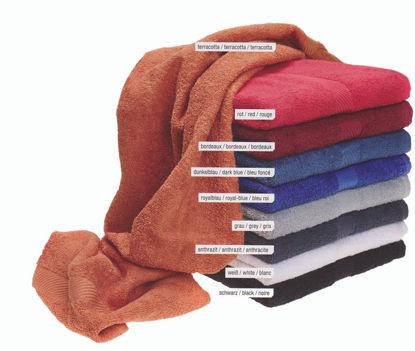 Billede af Håndklæde Efa 360 g/m2 GRÅ 50x90 cm.