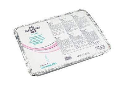 Billede af Epil Hot Wax lyserød 1 kg firkant voks