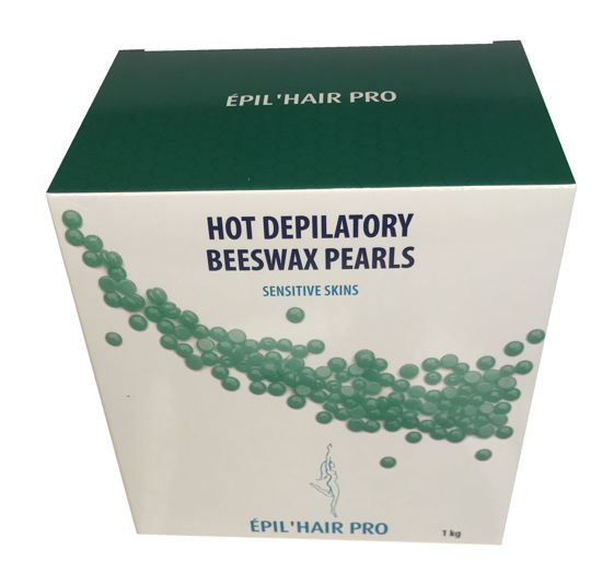 Billede af Epil Hot Depilatory Bivoks Grøn perler 1 kg.