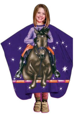 Billede af Slag Børne/Junior   Hest 125x130 cm.